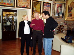 Diana Zimmerman, Norm Nielsen, David COPPERFIELD