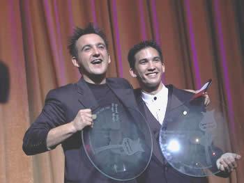 Les 2 grands prix : Norbert FERRE & Jason LATIMER