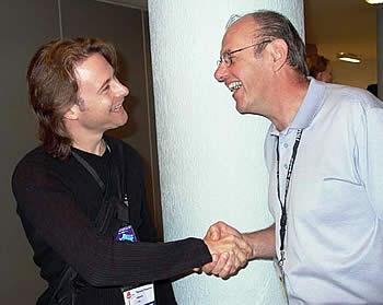 Thomas & Gene ANDERSON en pleine pause