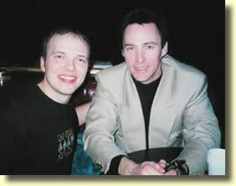 Boris WILD avec Lance Burton