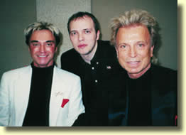 Borris WILD avec Siegfried & Boris & Roy