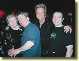 Irène Larsen, Jonathan Pendragon, Siegfried et Boris Wild.