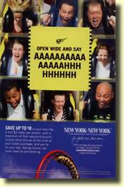 Manhattan Express Roller coaster
