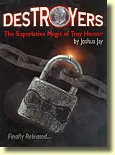 DesTROYers de Troy HOOSER par Joshua JAY : ancienne couverture
