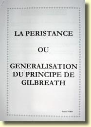 La Péristance ou Généralisation du Principe de Gilbreath par Daniel PERIS