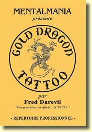 Gold Dragon Tattoo de Fred DAREVIL
