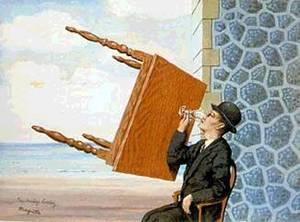 gueridon - René MAGRITTE : le Peintre des Illusionnistes ?