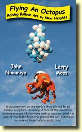 DVD Flying an Octopus de Larry MOSS et John NINOMIYA