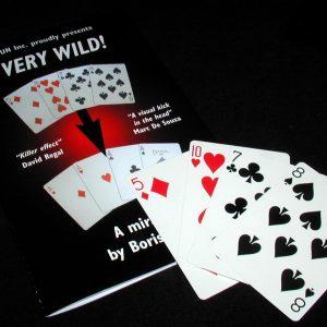 Jaquette de Very Wild de Boris WILD