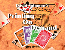 Printing on Demand de David SOLOMON