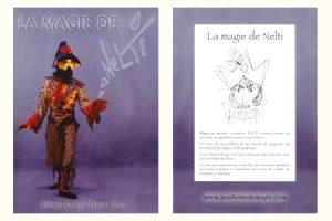 La Magie de Nelti d'André CASTINEL