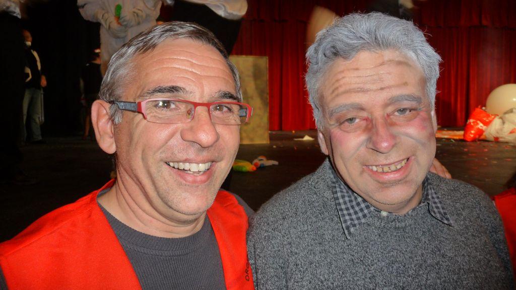 Thierry SCHANEN & Peter DIN au 44e Congrès FFAP Paris du 21 au 241010 - Photographe Thomas THIEBAUT pour Virtual Magie