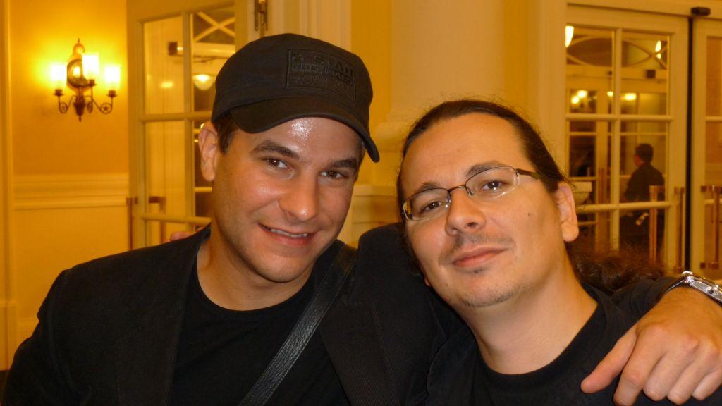Nestor HATO & Mathieu BICH au 44e Congrès FFAP Paris du 21 au 241010 - Photographe Thomas THIEBAUT pour Virtual Magie