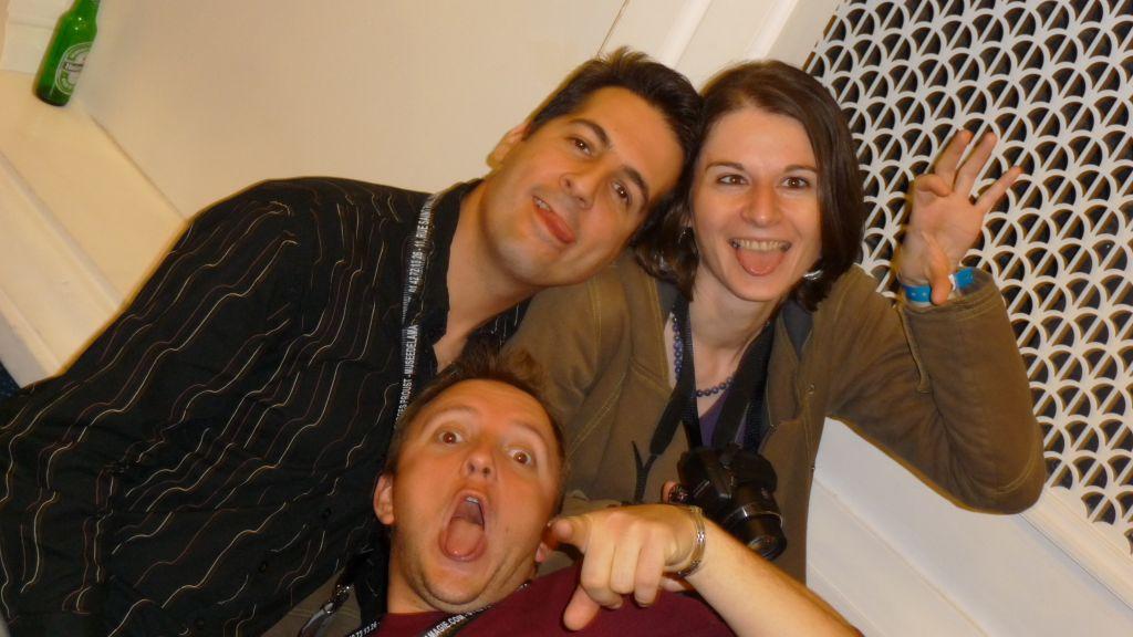 Roland GRALL, Iris, Mathieu PUECH au 44e Congrès FFAP Paris du 21 au 241010 - Photographe Thomas THIEBAUT pour Virtual Magie