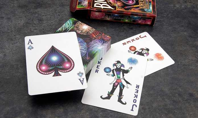 Cartes à Jouer Bicycle Fireworks