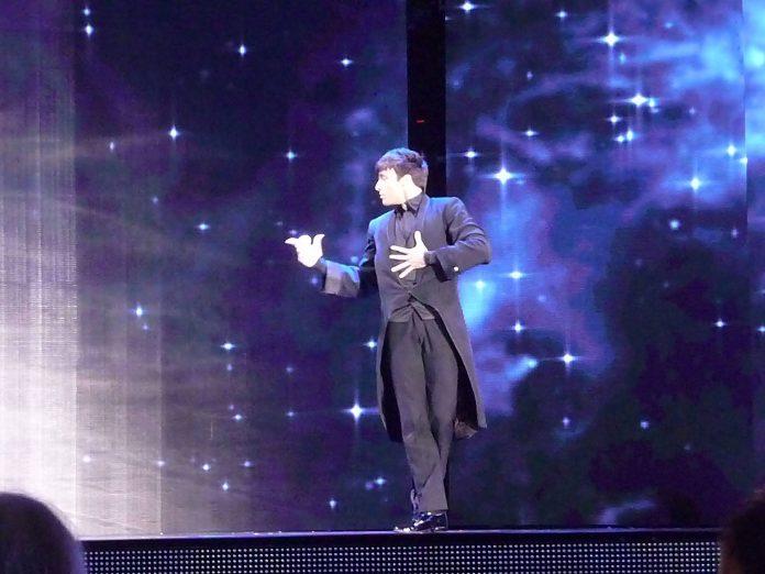 Charlie Mag à la FISM 2015 Rimini par Peter DIN pour VirtualMagie