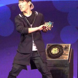 Oh Hyun Seong à la FISM 2015 Rimini par Peter DIN pour VirtualMagie