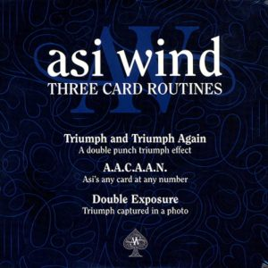 Three Card Routines d'Asi WIND