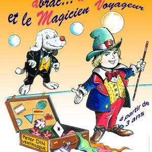 Affiche Le Magicien Voyageur à l'Alambic Comédie