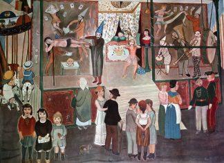 Tableau d'Edgard TYTGAT (1879-1957)