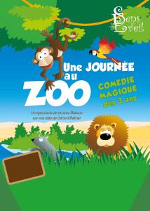 Une journée au zoo de Sébastien DELSAUT (84) @ Theatre le Celimene