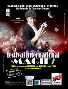 1er Festival International de Magie des Vosges (88) @ Salle de la rotonde