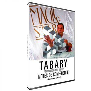 Notes de Conférence de Francis TABARY