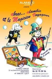 Le Magicien Voyageur de Peter DIN (75) @ Théâtre l'Alambic Comédie