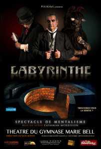 Pourang dans Labyrinthe (75) @ Théâtre du Gymnase