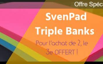 SvenPad Triple Banks