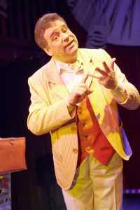 Le Magicien Voyageur de Peter DIN (75) @ Théâtre Alambic Comédie