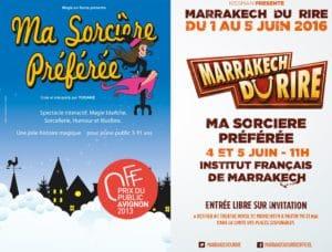 Yogane au Festival du Rire de Marrakech 2016 @ Institut Français
