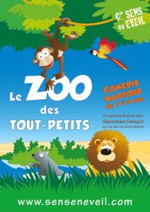Le Zoo des Tout Petits de Sébastien DELSAUT (84) @ Theatre le Celimene