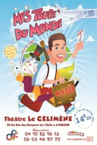 Mes Tours du Monde de Nicolas GOUBET (13) @ Théâtre le Célimène
