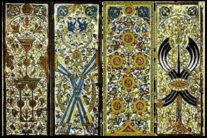 Enluminures de cartes Mamelouk