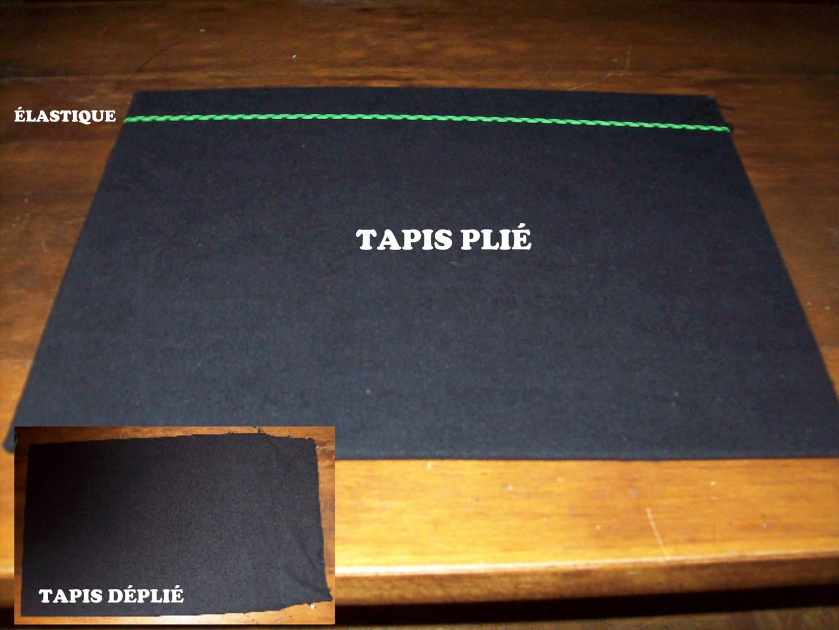TAPIS CLOSE UP MANKAI B 12 1 - Tutoriel : Fabriquer un Tapis de Close-Up Multi-Fonctions