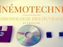 Mnémotechnie | Chronologie des Ouvrages publiés en langue française