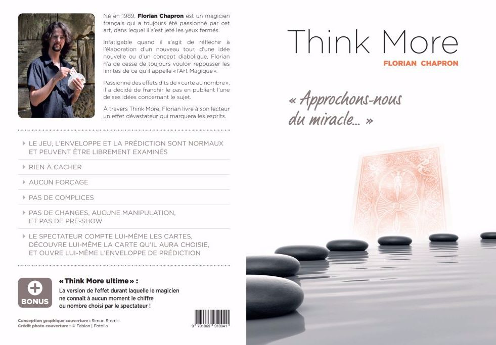 Think More de Florian CHAPRON