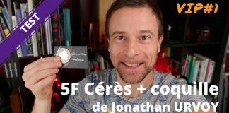 Pièce 5F Cérès de Jonathan URVOY