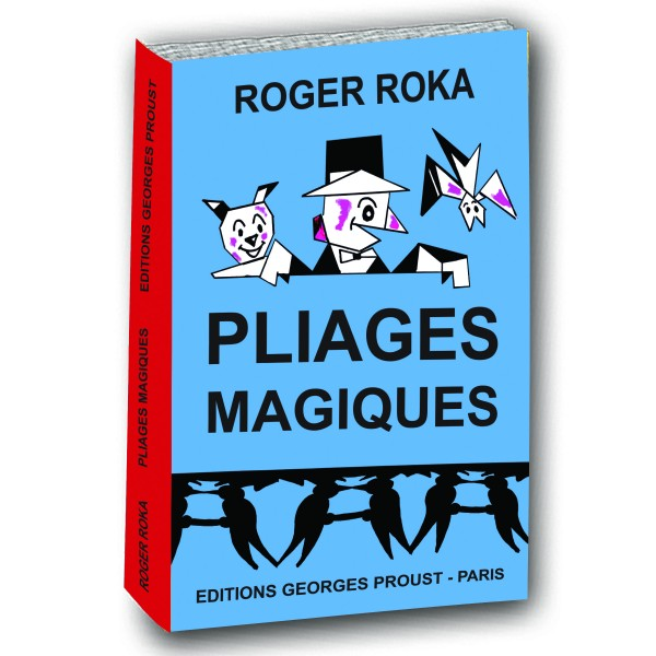 bon plan vm pliages magiques de roger roka les tag res magiques virtual magie l. Black Bedroom Furniture Sets. Home Design Ideas