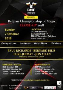 Belgian Championship Close-up Magic