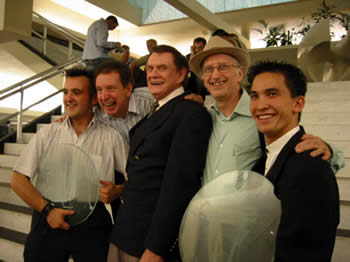 Norbert Ferré, Pierre Brahma, Johnny Thompson, Juan Tamariz et Jason Latimer