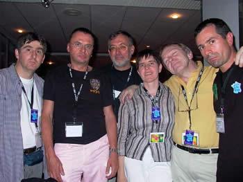 Des comiques pas drôles : Yann BRIEUC, Otto WESSELY, Joel HENNESSY & Jean-Philippe LOUPI