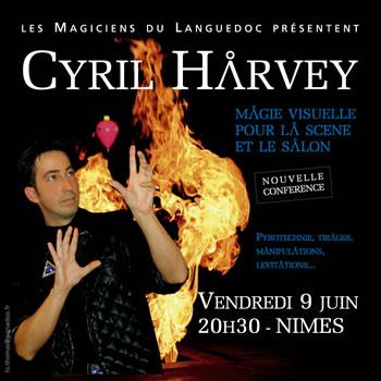 magie harvey - Conférence de Cyril HARVEY
