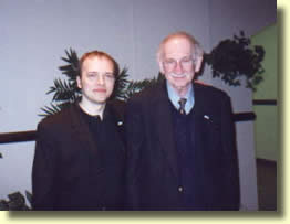 Avec Herb Zarrow, entre deux mélanges.