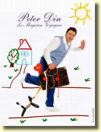 Peter DIN : Quand le magicien se fait voyageur...