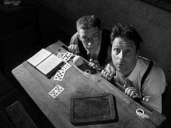 magie Helfenstein Brun - Claude BRUN et Jérôme HELFENSTEIN à la Maison de la Magie à Blois