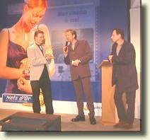 Votre serviteur avec Laurent BOYER et Charles BERLING