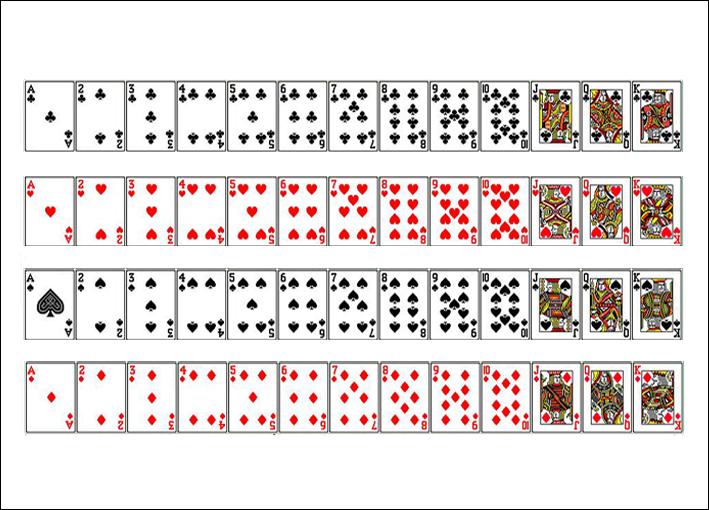 carte à jouer à imprimer Imprimer ses Cartes à Jouer | ▷ Virtual Magie
