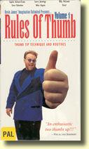 magie RulesThumb - Rules of Thumb Volume 1 de Kevin JAMES